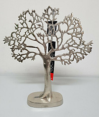 Levensboom - ruw nikkel