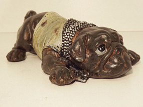 Bulldog Droopy Eyes