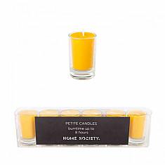 Petits candles - 6 stuks - Ocre