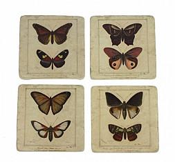 Onderzetters vlinders