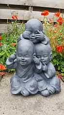 Shaolin monniken horen/zien/zwijgen