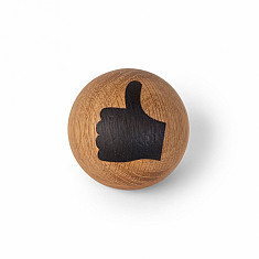 Spring Emotion - Thumbs up - Hout