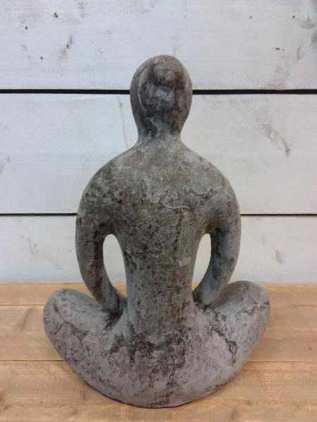 Yogabeeld - Aardewerk