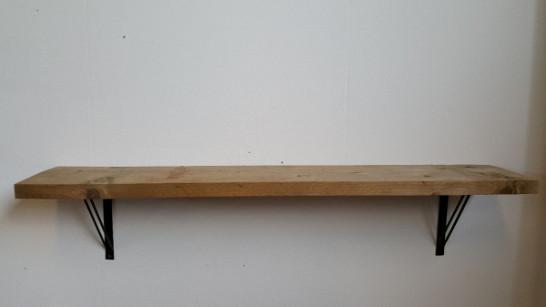 Wandplank Steigerhout