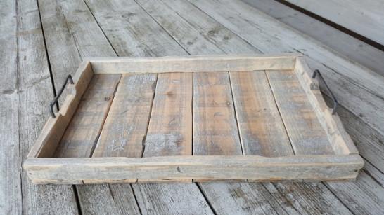 Dienblad gerecycled hout