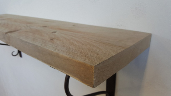 Wandplank steigerhout krul