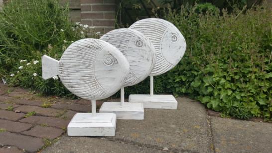 Decoratieve Vis - Hout - 3 maten