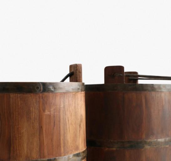 Houten wateremmer Factory