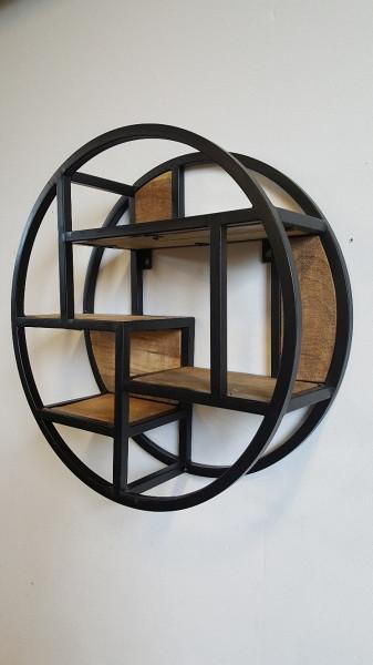 Bakkersrek - Rond - Zwart