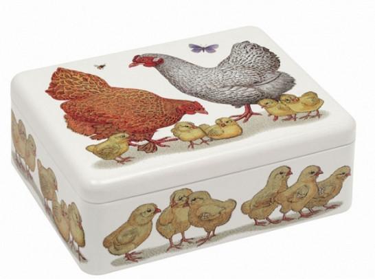 Bewaarblik Kippenfamilie